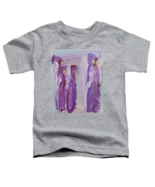 Angels In Purple Toddler T-Shirt