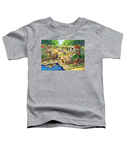 Animals At The Petting Zoo Toddler T-Shirt