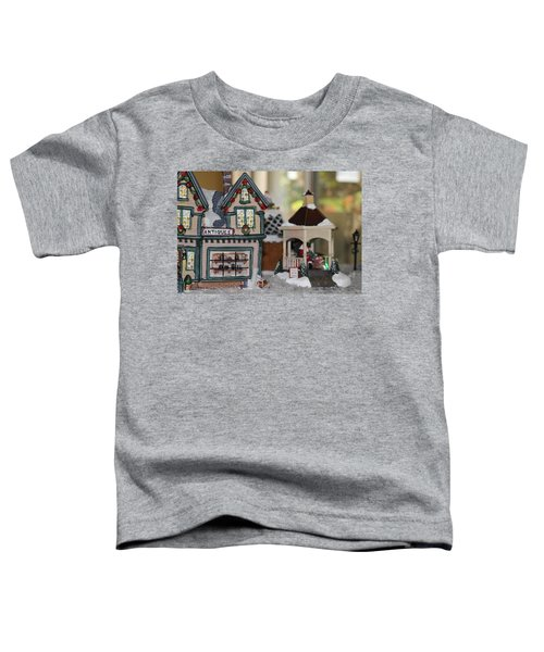 Antiques In Christmas Town Toddler T-Shirt