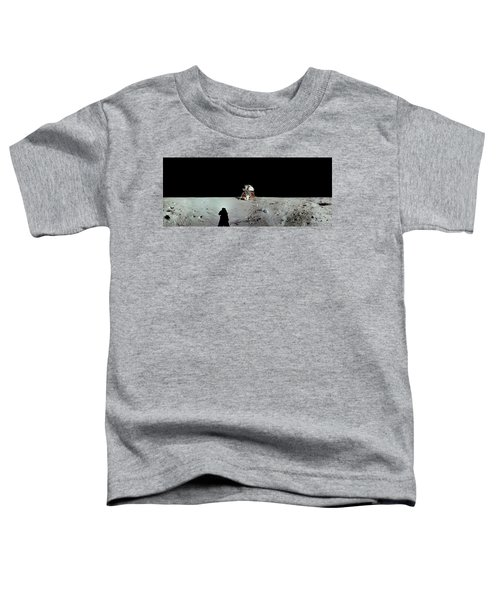 Apollo 11 Panorama Of The First Men Toddler T-Shirt