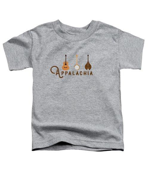 Appalachia Mountain Music White Mountains Toddler T-Shirt