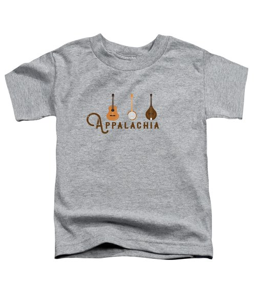 Appalachia Mountain Music White Mountains Toddler T-Shirt
