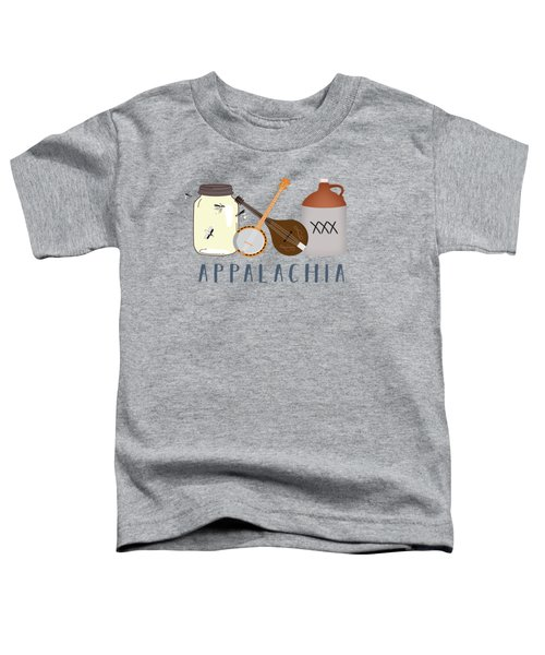 Appalachia Music Toddler T-Shirt