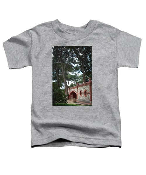 Architecture At The Gardens Of Cecilio Rodriguez In Retiro Park - Madrid, Spain Toddler T-Shirt
