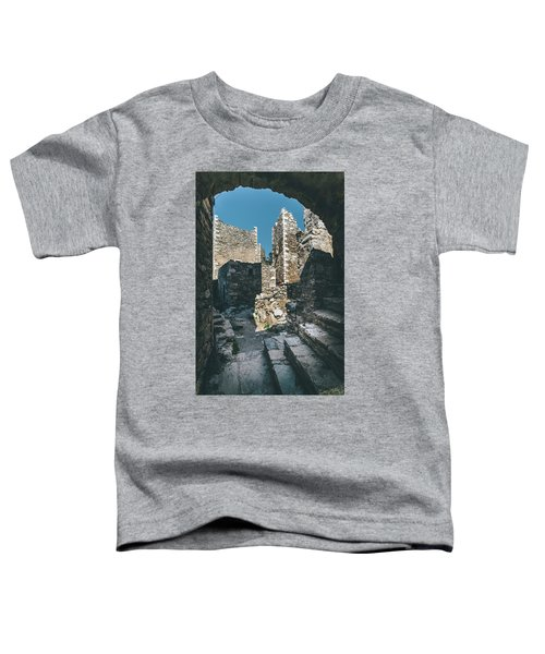 Architecture Of Old Vathia Settlement Toddler T-Shirt
