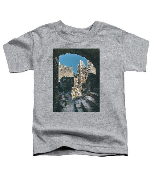 Architecture Of Old Vathia Settlement Toddler T-Shirt
