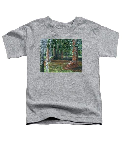 Ardoyne Ruins Near The Mansion, Houma, Louisiana Toddler T-Shirt
