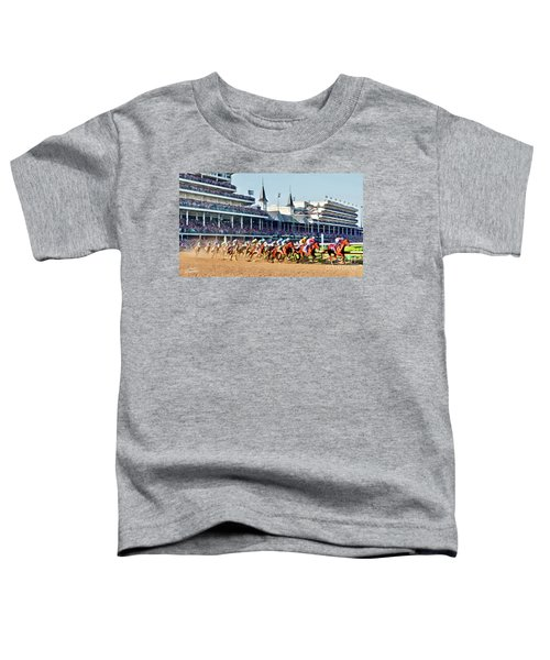 Around The First Turn Toddler T-Shirt