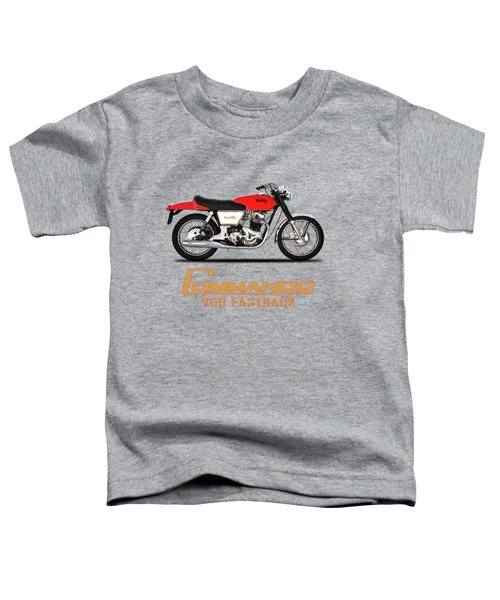 Norton Commando Fastback Toddler T-Shirt