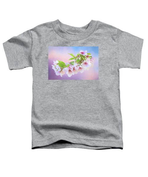 Charming Cherry Blossoms Toddler T-Shirt