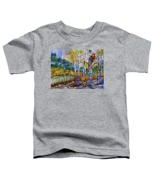 Aspen Bears At Emmigrant Gap Toddler T-Shirt