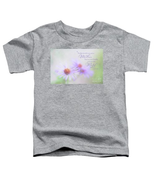 Asters For Mother's Day Toddler T-Shirt