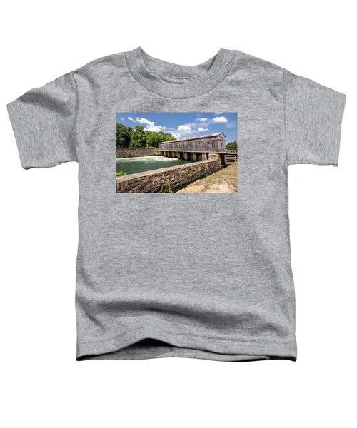 Augusta Canal Headgates - Augusta Ga Toddler T-Shirt