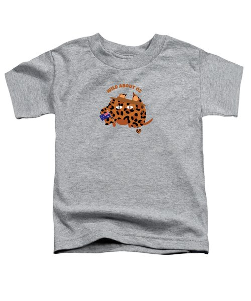 Australia Day Cat And Flag Animal Print Toddler T-Shirt