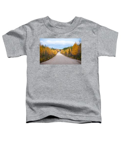 Toddler T-Shirt featuring the photograph Autumn In Ontario by Carl Young