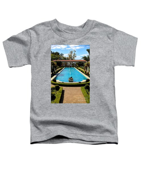 Awesome View Getty Villa Pool  Toddler T-Shirt