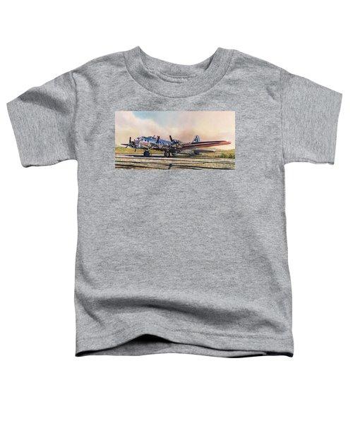 B-17g Sentimental Journey Toddler T-Shirt