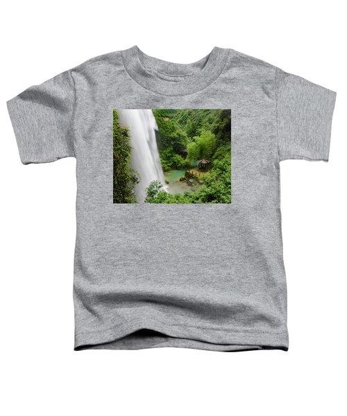 Baiyun Waterfall Toddler T-Shirt