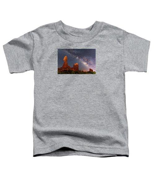 Balanced Rock Night Toddler T-Shirt