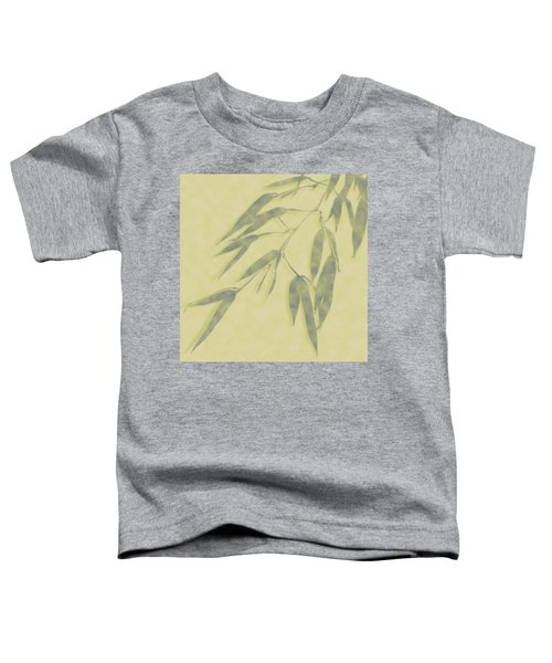 Bamboo Leaves 0580b Toddler T-Shirt