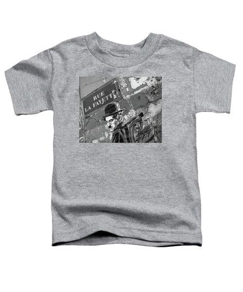 Banksy Rue La Lafayette Toddler T-Shirt