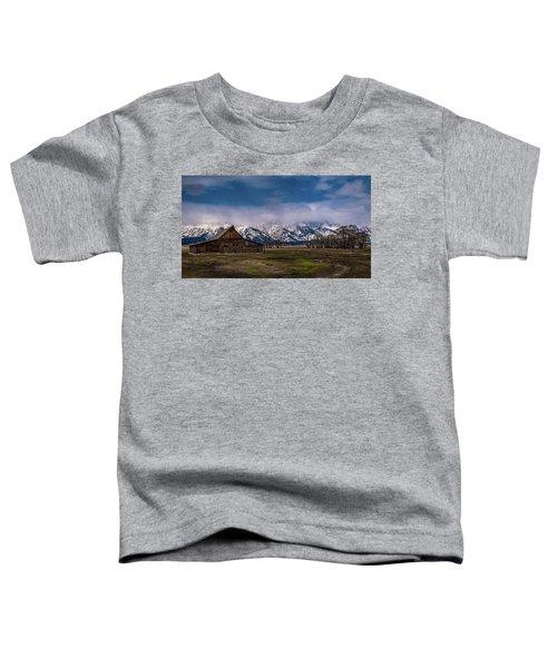 Barn At Mormon Row Toddler T-Shirt
