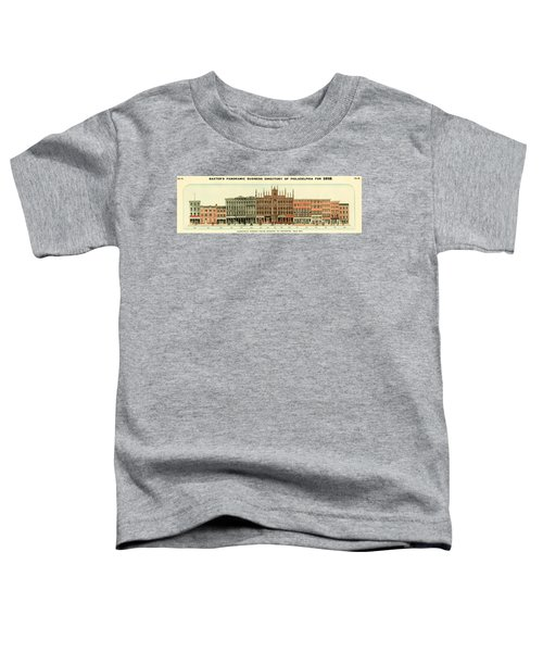 Baxter's Panoramic Business Directory Toddler T-Shirt