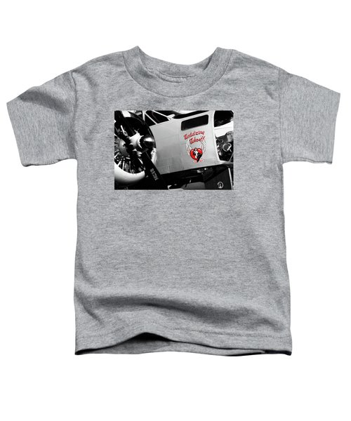 Beech At-11 In Selective Color Toddler T-Shirt