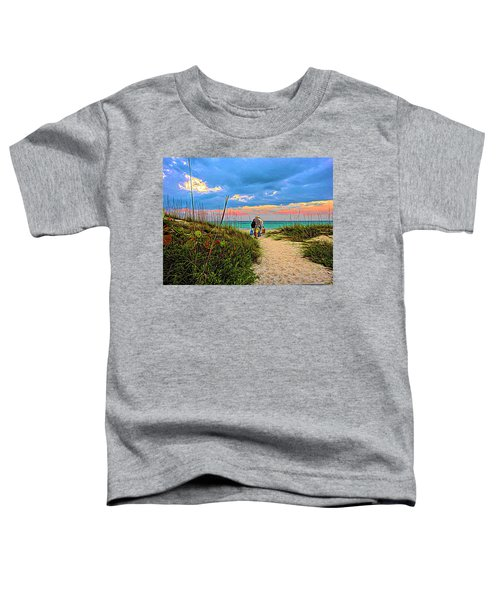 Beginning Of A Fishing Story Toddler T-Shirt