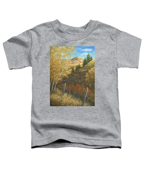 Belt Butte Autumn Toddler T-Shirt