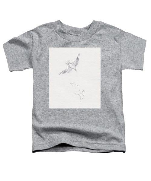 Black-billed Gulls Toddler T-Shirt