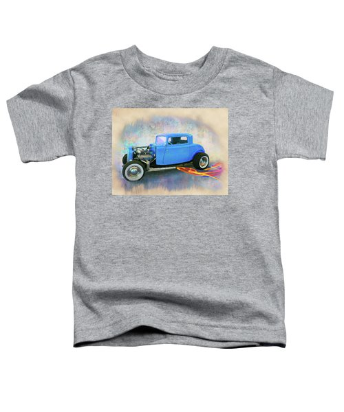 Blue 32 Ford Coupe Toddler T-Shirt