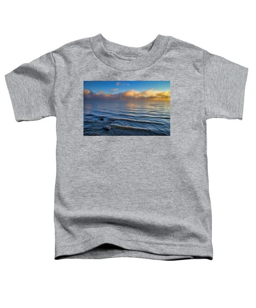 Blue And Gold Toddler T-Shirt