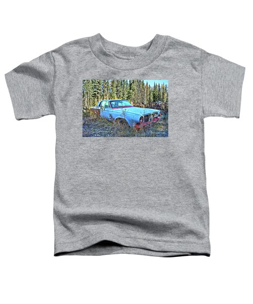 Blue Beauty Toddler T-Shirt