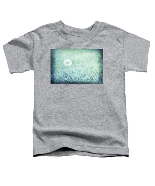 Blue Dandelion Toddler T-Shirt