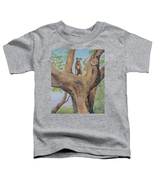 Blue Lacey In A Tree Toddler T-Shirt