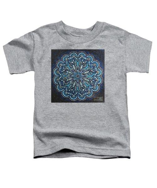 Blue Mandala Toddler T-Shirt