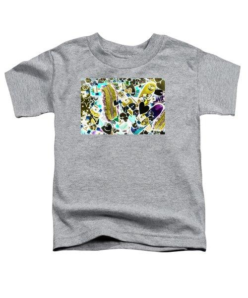 Boarding Background Toddler T-Shirt