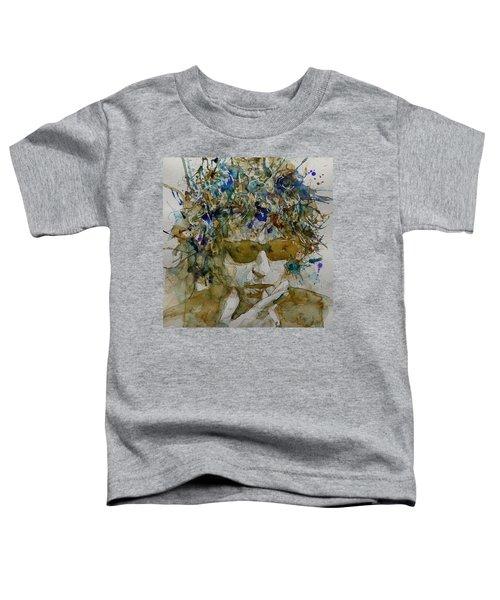 Bob Dylan - Knocking On Heavens Door Toddler T-Shirt