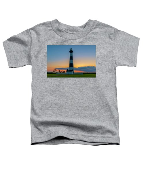 Bodie Island Lighthouse, Hatteras, Outer Bank Toddler T-Shirt