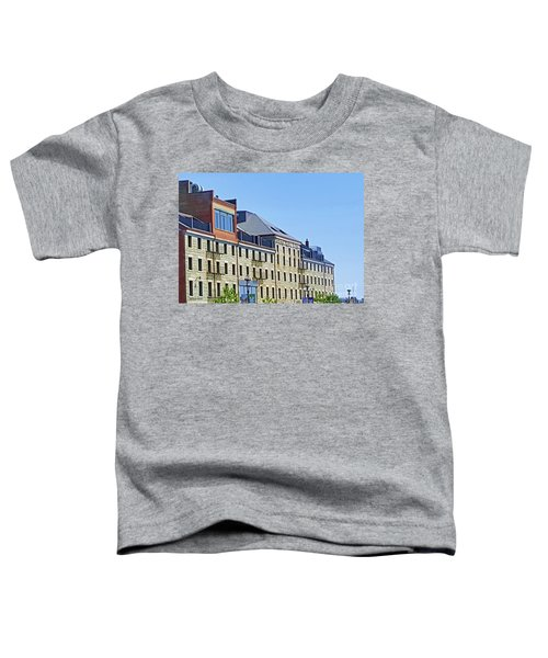 Boston Custom Block By Roberta Byram Toddler T-Shirt