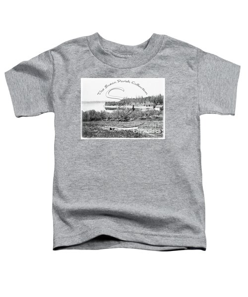 Boston Harbor, View To The Nw Toddler T-Shirt