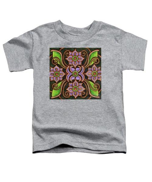 Botanical Mandala 6 Toddler T-Shirt