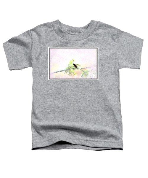 Boxelder Bug In Morning Haze Toddler T-Shirt