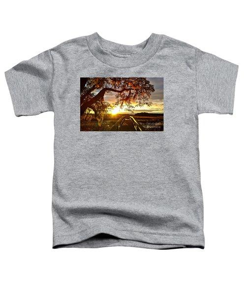 Breaking Sunset Toddler T-Shirt