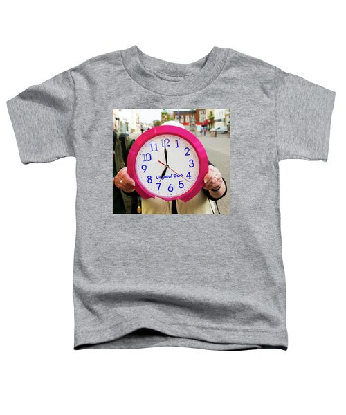 Broken Time Toddler T-Shirt