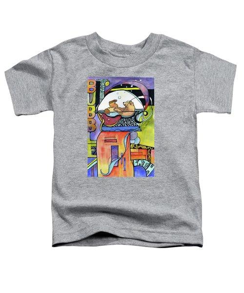 Bubble Bath Bear Toddler T-Shirt