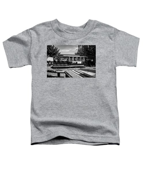 Cable Car Turn Around Toddler T-Shirt