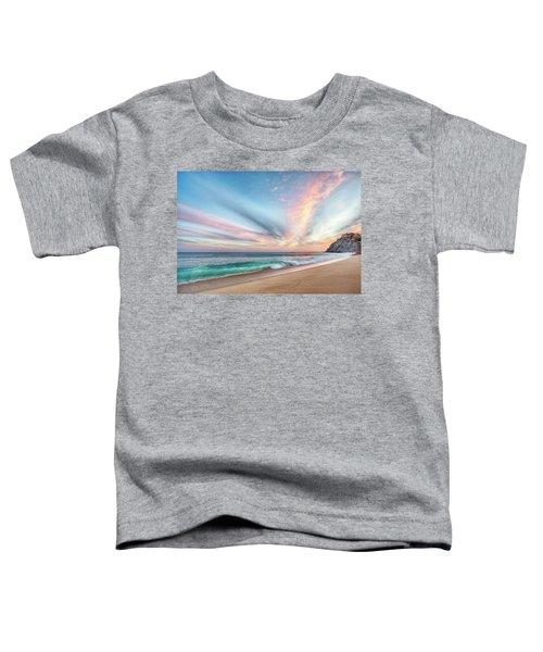Cabo San Lucas Beach Wave Sunset Toddler T-Shirt