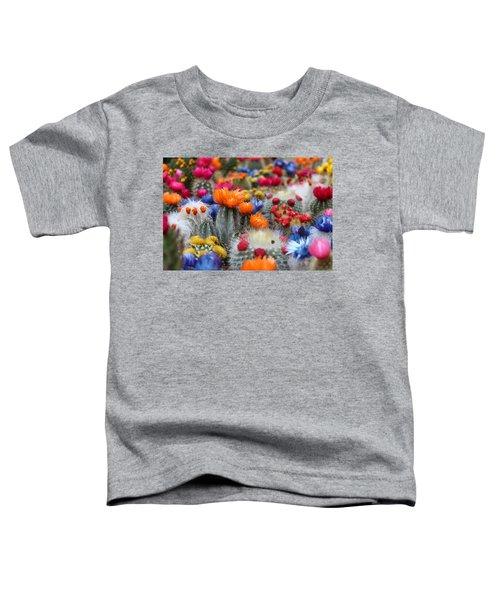 Cacti Flowers Toddler T-Shirt